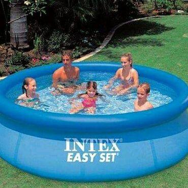 Pvc vrata - Srbija: 6000dinIntex Bazen Easy Set 244 x 76cm (28110)Easy Set bazeni (ES) su