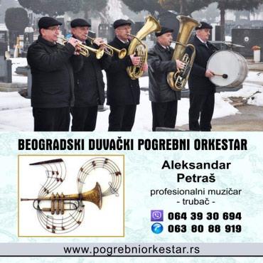 Pogrebni orkestar bleh muzika za sahrane trubači Beograd - Belgrade