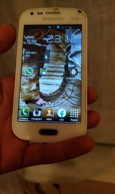 audi rs 5 42 fsi - Azərbaycan: İşlənmiş Samsung Galaxy S Duos 4 GB ağ