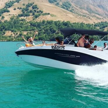 Водный транспорт - Кыргызстан: Продаётся катер barracuda 2019 года с мотором ямаха 250 . Катер