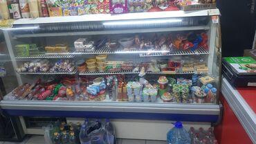 витринный холодильник купить в Кыргызстан: Б/у Холодильник-витрина Белый холодильник