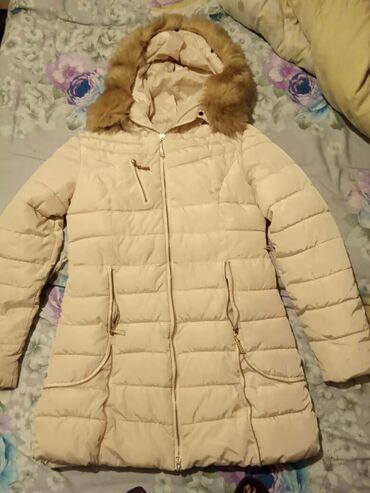 свадебное платье размер 46 48 в Кыргызстан: Турецкая зимняя куртка в отличном состоянии. Размер 46-48