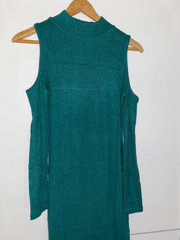 Evaroza turska haljina petrolej zelena boja s velicina