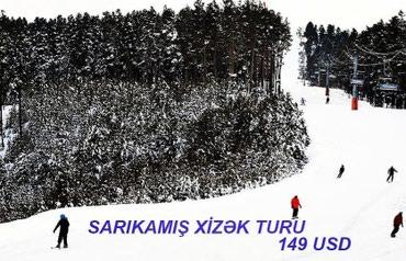 Bakı şəhərində SARIKAMIŞ XİZƏK TURU