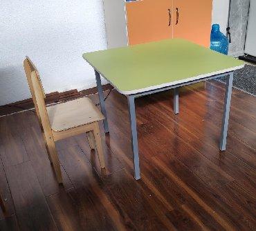воспитатель детского сада вакансии в Кыргызстан: Детский столДля детского сада* Сертификат ЕАЭС* Размеры 70х70см *