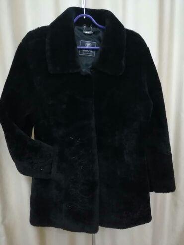летнее платье 48 размера в Кыргызстан: Женская дубленка мутон,размер 46-48 (L) цена 8000с