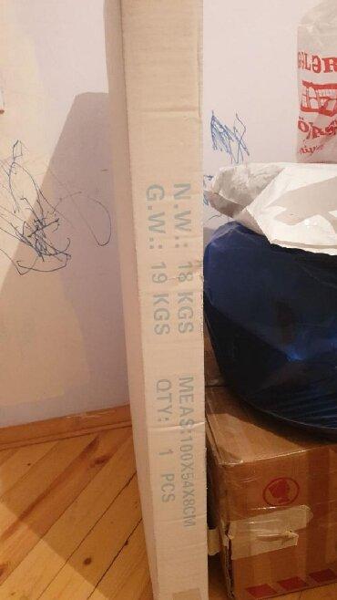 стол цвет венге в Азербайджан: Письменный стол. Новый, в упаковке. Цвет темно коричневый