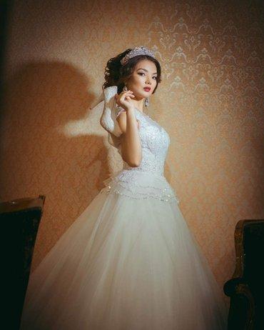 Свадебное платье на прокат и продажу  в Бишкеке.  в Бишкек