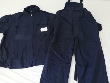 Novo radno odelo br 54. bluza i pantalone tregerice . veličina