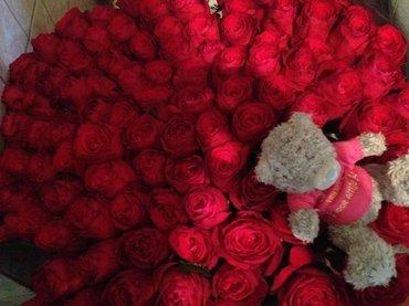 101 роза — это сто и еще один способ в Бишкек