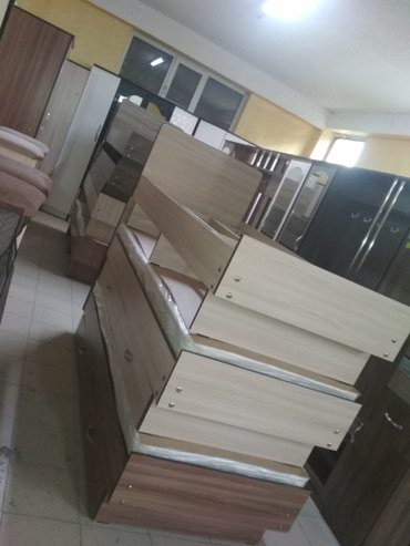 Кровать односпальные новые доставка по городу с матрасом 5500 ватсап в Бишкек