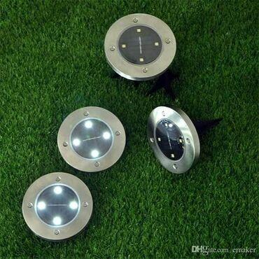 Kućni dekor - Majdanpek: DOSTUPNE 4 SOLARNE DISK LAMPECena 1600din U paketu dobijate 4 okrugla