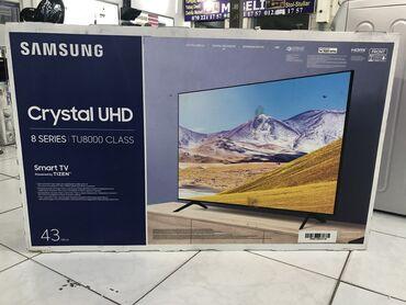 Samsung 43 TU 8000 (109cm) 8ci nəsil. 2020 model. Səsli idarə olunma