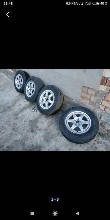 диски момо r18 в Кыргызстан: Диски с шинами, отличном состоянии стояли на форестере, разболтовка