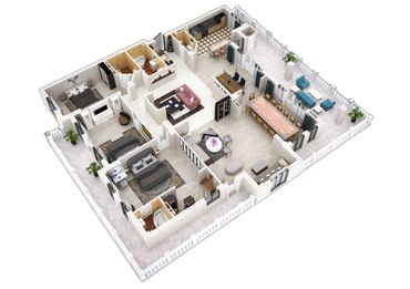 Сделаю 3D визуализация квартир и домов. Любого сложности. в Бишкек