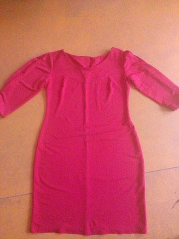 Платье бу рукава тричетверть длина до колена. размер 46 48  в Бишкек