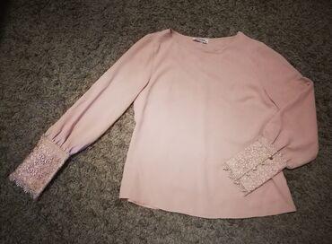 Esay bluza, puder roze boje, kao nova, vel. 38