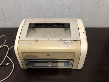 printer hp laser jet 1018 в Кыргызстан: Продаю принтер HP Lazer Jet. Черно-белый. Печатает хорошо