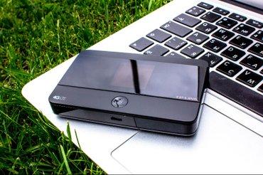 wi fi роутер и модем в Кыргызстан: Интернет в кармане! Мощный wi-fi роутер 3g/4g lte tp-link m7350 - для
