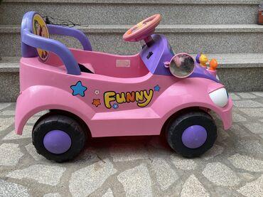Dečiji električni automobili - Srbija: Vrlo malo korišćen, u odličnom stanju. Baterija skoro zamenjena