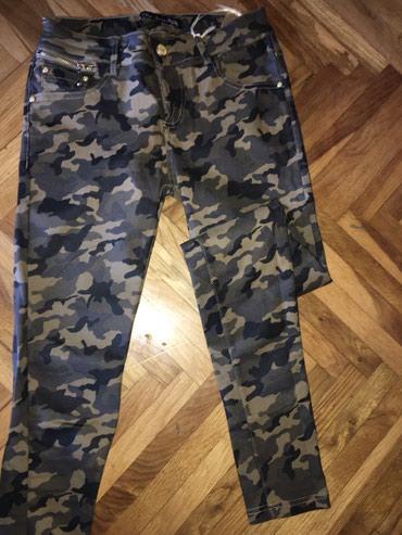 Military pantalone - Srbija: Kao kozne nove maskirne pantalone . Military look. Jako tegljive. Od