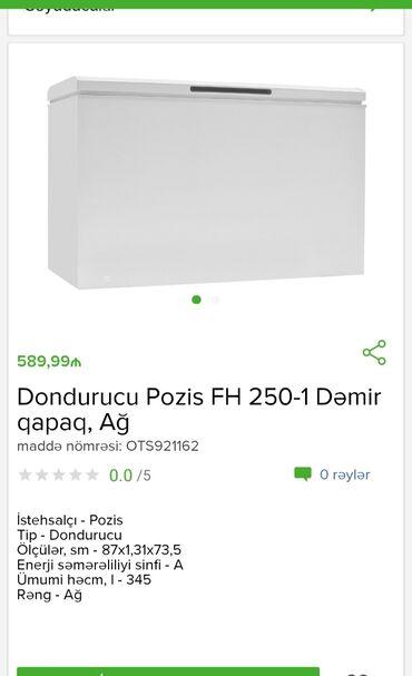 Dondurucu Pozis cəmi 600 AZNTam zəmanətləNəğd və 1 kartla ödəniş Evdən