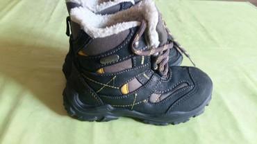 Pocepane na kolendublji - Srbija: Duboke cipele(čizmice)za decake br. 26 polovne i jako dobro
