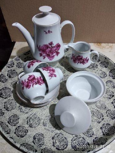 Посуда в Ак-Джол: Сервиз кофейный на три персоны