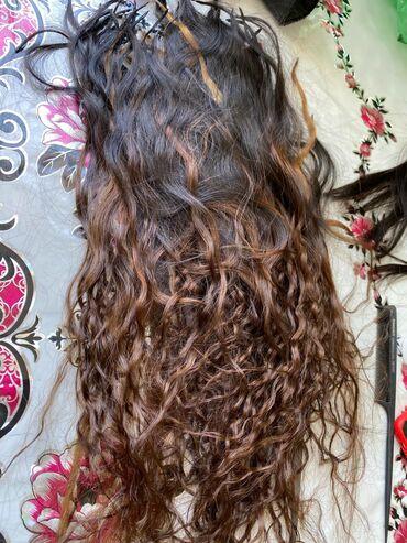 наращивание волос бишкек in Кыргызстан | ДРУГОЕ: Продаю волосы для наращивания.качество отличное. 150капсул. 60 см
