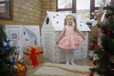 Картонный домик для рисования, подарите вашему малышу лучший подарок в Бишкек