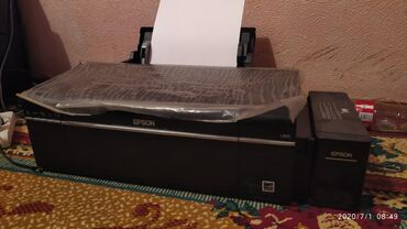 Принтеры в Кызыл-Кия: Фото-Принтер. Epson L805. Абалы эң жакшы.  Кызыл-Кыя шаарында