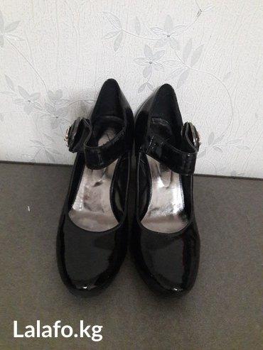Классические туфли черные размер 38 в Бишкек