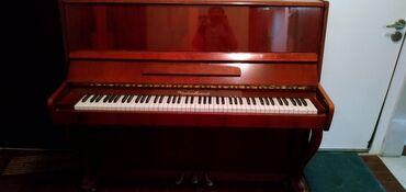 Klavir - Srbija: Klavir, braon boje. Ocuvan maksimalno