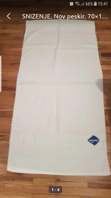 Nov peskir. 70×140cm,izuzetno kvalitetan,100%pamuk