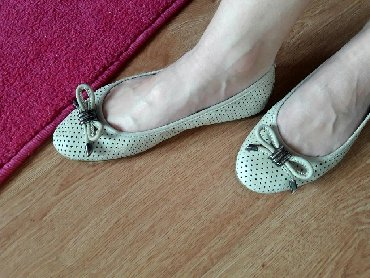 Ženska obuća   Sremska Mitrovica: Shoe star baletanke broj 39 prava koža (brebd antonella rossi)