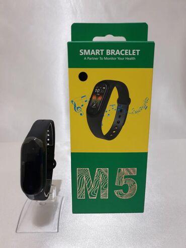 Смарт-часы с фитнес трекером BAND М5 уже в