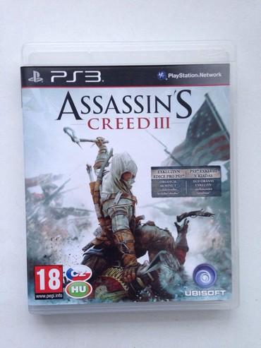 plastation - Azərbaycan: Assasins creed 3. Disk tezedi PS3(PlayStation 3) Ассасинс крид 3. Диск
