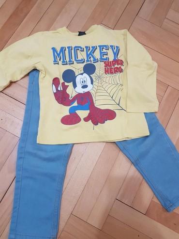 Majica sl - Srbija: Pantalone i Mickey majicavel 2-3U odlicnom stanju. Slanje brzom