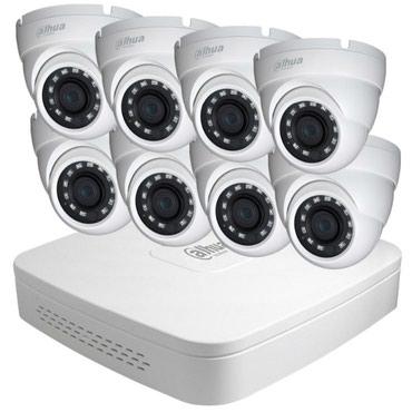 Xırdalan şəhərində KAMERA SERVİS # 8 Portlu DVR + 8 ədəd FULL HD Kamera + 1 TB Hard