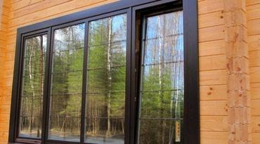 Современные алюминиевые окна и двери в Бишкек