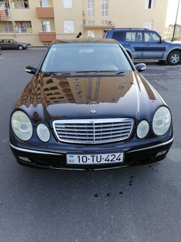Avtomobillər - Azərbaycan: Mercedes-Benz E 260 2.6 l. 2003 | 269000 km