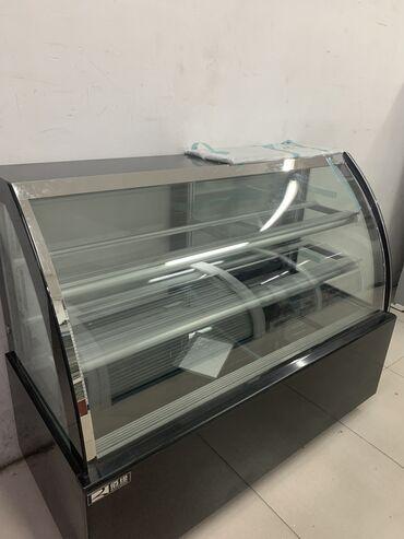 Холодильники - Кыргызстан: Требуется ремонт Холодильник-витрина Черный холодильник