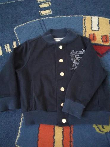 Prelazna jaknica za decake do 2 god. Teget je boje, par puta nosena - Novi Sad