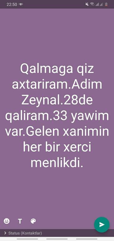satici qiz axtariram - Azərbaycan: Bakida 28de qalmaga qiz axtariram ozumle.Her bir teminati menlikdi