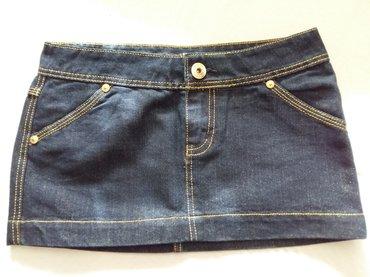 Teksas suknja, iz kolekcije Teranova (nova) vel S - Novi Sad
