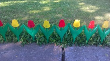 Ogradica za travnjak i cveće pakovanje 10 cvetova 1,5 m sirine - Stara Pazova