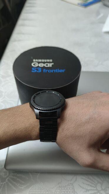 samsung gear s3 в Кыргызстан: Черные Унисекс Наручные часы Swatch