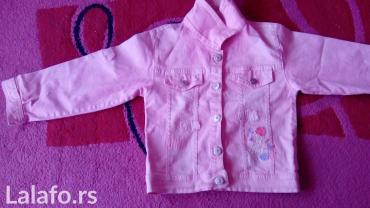 Roze-prsluk - Srbija: Roze teksas jaknica