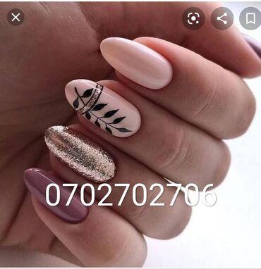 Красота и здоровье - Кыргызстан: Шелак + маникюр    Наращивание ногтей  Адрес Гагарина 139 тел но