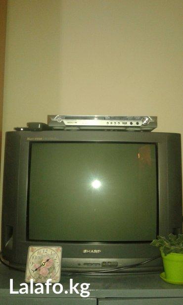 В связи с перездом подается цветной японский телевизор  sharp в отличн в Лебединовка